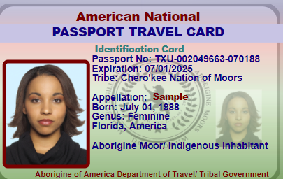 passport ID- SAMPLE